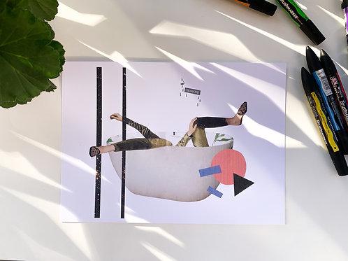 'Nosedrip' Print