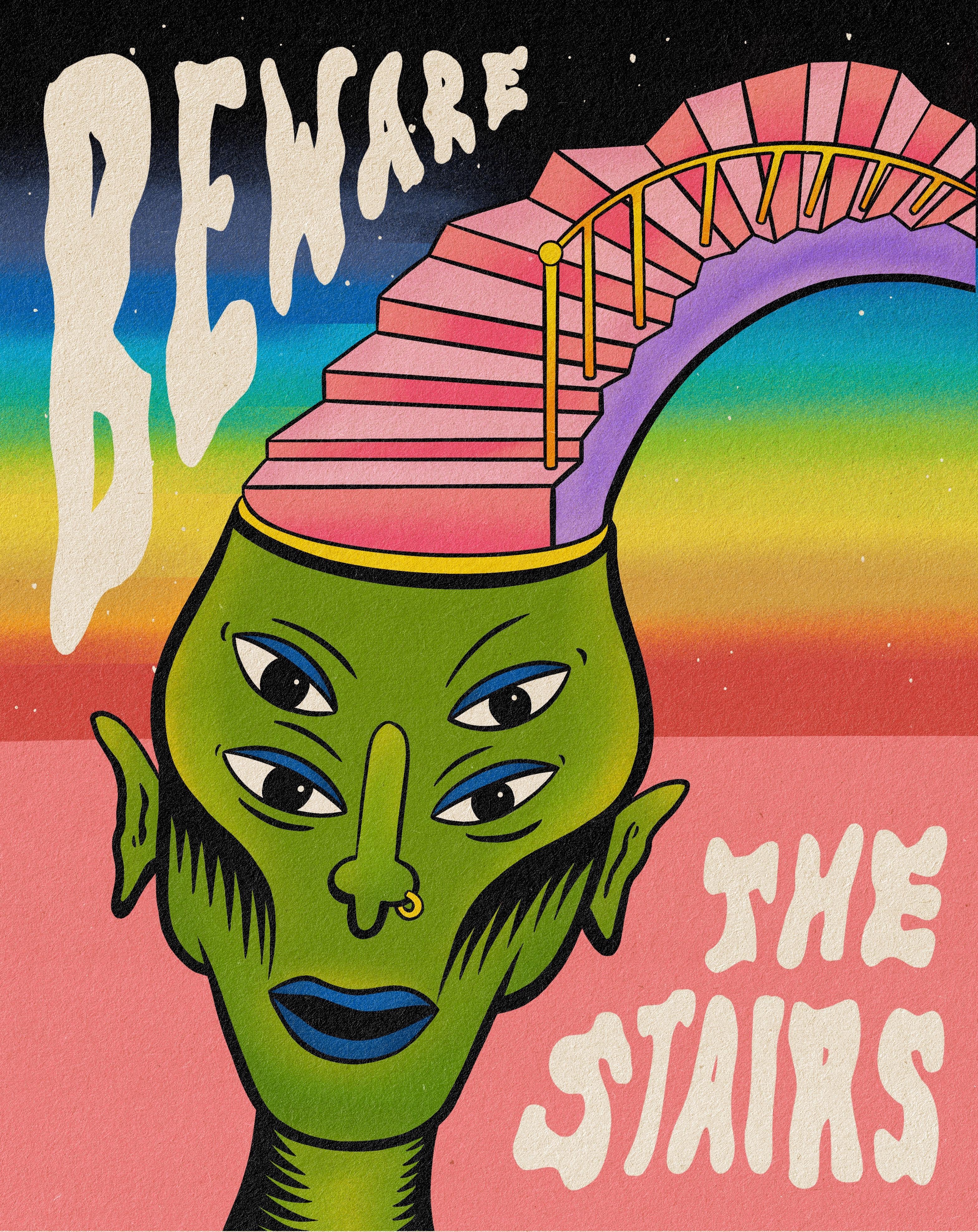 'Beware The Stairs'