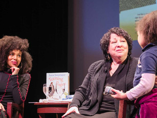 Bronx Natives U.S. Associate Supreme Court Justice Sonia Sotomayor and Actor and Activist Kerry Wash