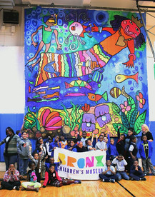 What is Art? Program at BronxWorks Creates 17' Mural