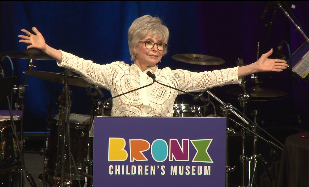 Rita Moreno at Bronx Children's Museum's 3rd Annual Gala