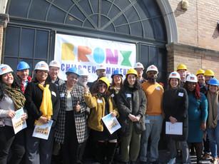 City officials visit Museum site under construction