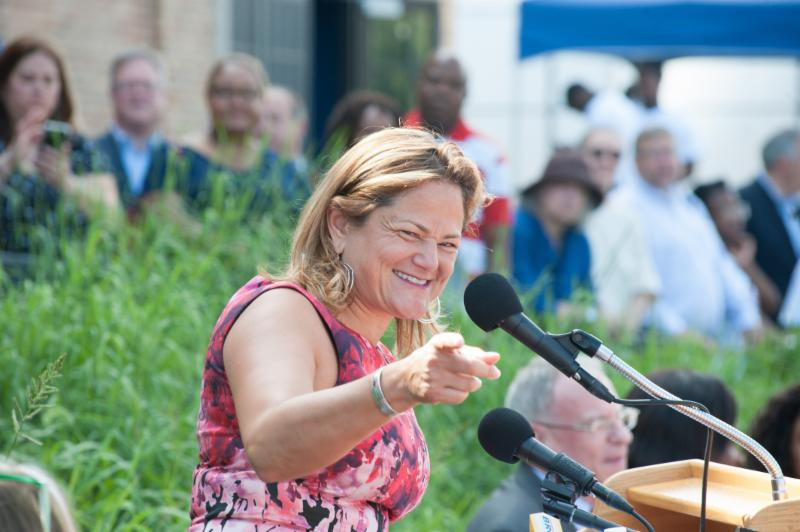 NYC Council Speaker Melissa Mark-Viverito talked about how the Museum will impact New Yorkers for generations to come