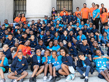 Dream Big Participants visit Justice Sotomayor and Courthouse as part of Dream Big Day