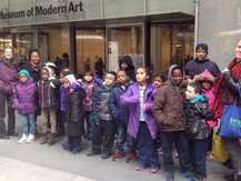 Museum GreenArts program PS 55 students go to MOMA!