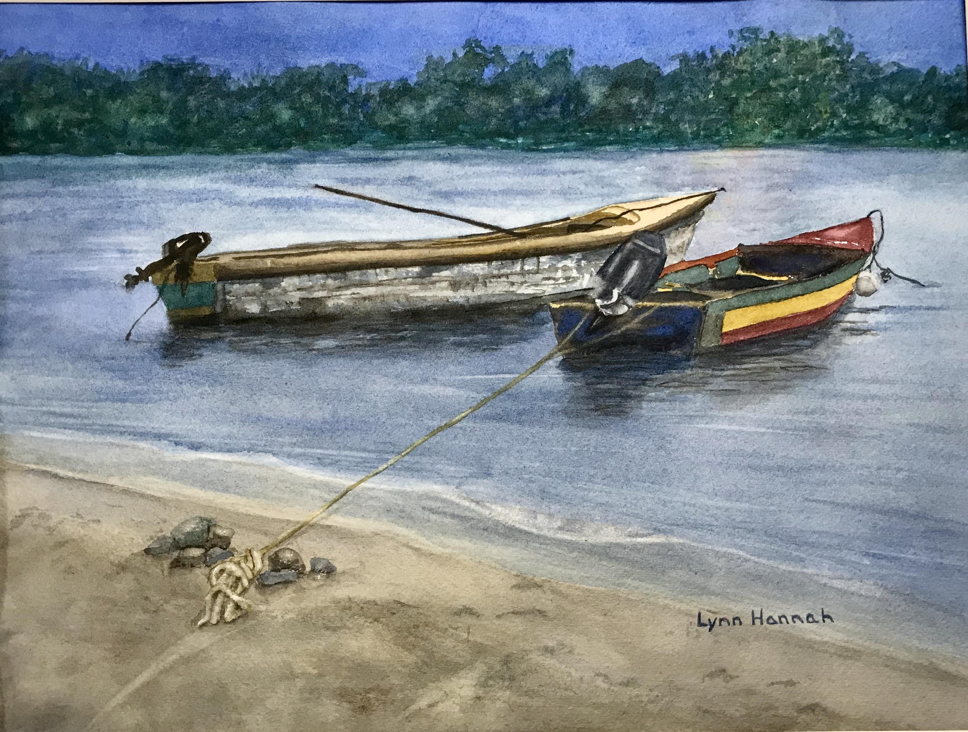 Fishing Boats Dawn