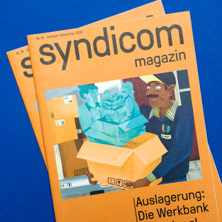 syndicom Magazin