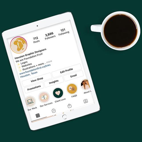 Instagram Highlight Covers Design