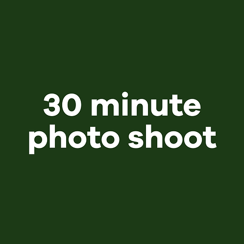 30 min photo shoot