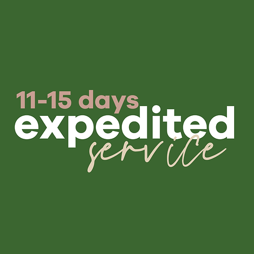 Expedited Fees (Website + Business Plan)