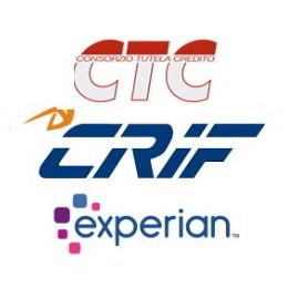 Logo della CRIF e delle altre centrali rischi