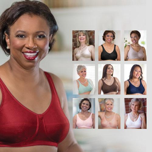 American Breast Care Rose Contour Wire Free Bra #103F