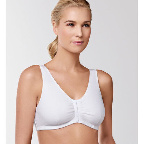 Amoena Frances Cotton Blend Leisure Bra #2128