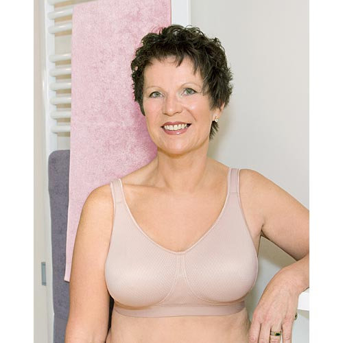American Breast Care Wire Free Massage Bra #525