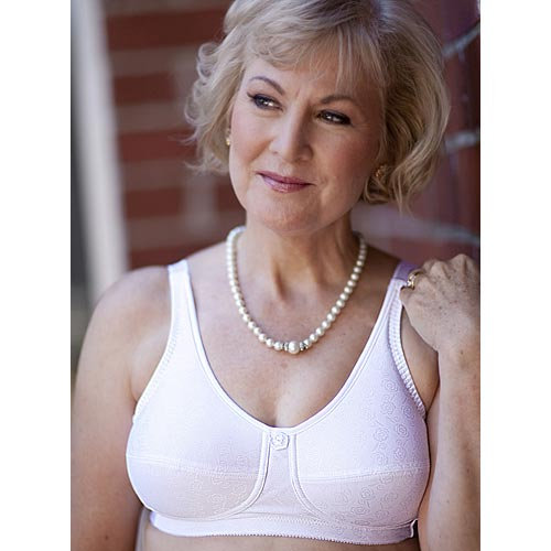 American Breast Care Rose Contour Wire Free Bra #103