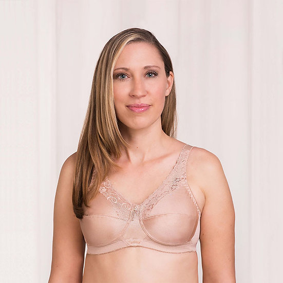 Trulife Barbara Tricot and Lace Wire Free Bra #210