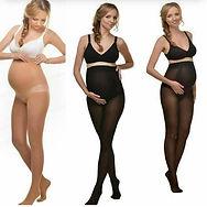 На первый взгляд колготки для беременных ничем не отличаются от обычных. На самом деле они имеют особенный крой, который предусматривает вставку из эластичной ткани в районе животика с мягкой резинкой.