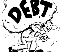 In the pit of debt