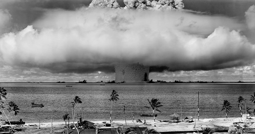 Pacific nuclear testing
