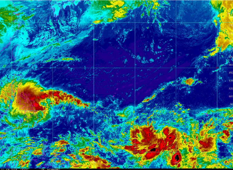 Tropical Depression 34W Guam