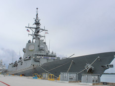 Spanish Navy Frigate visits US Navy base as part of 500-year-old voyage