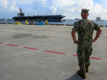 Navy ships pull into Guam for liberty port visit