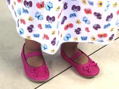 Guam's future wears hot pink magic slippers