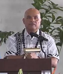 FSM President David Panuelo