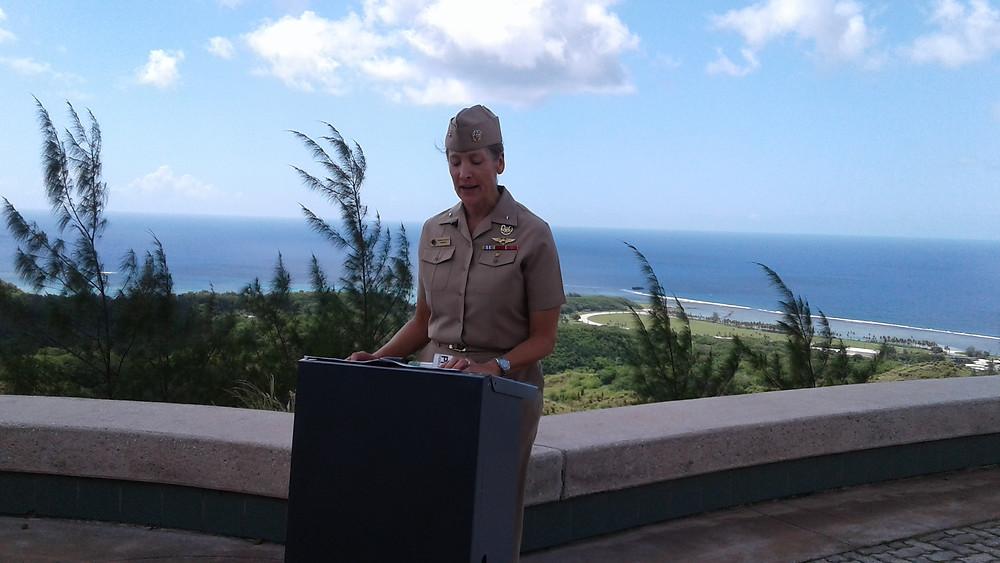 Rear Adm. Shoshana Chatfield, Joint Region Marianas commander