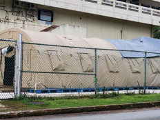 79th Covid-19 death reported; Blu-Med tent to beef up bed capacity