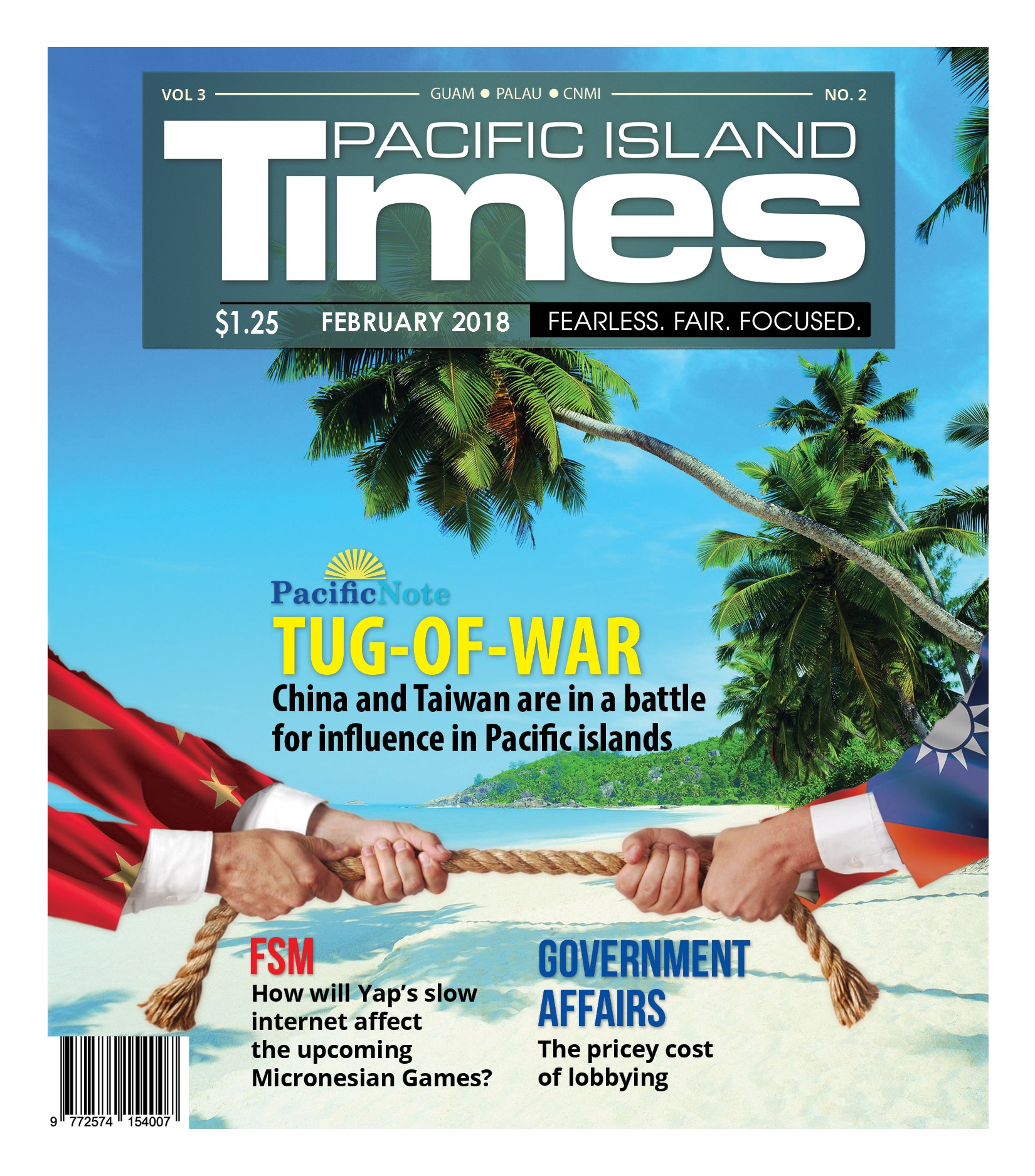 The two-China rivalry over the Pacific islands