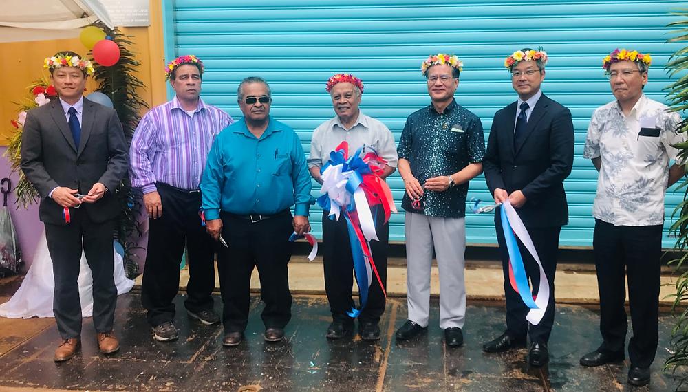 Kosrae Power Plant opening