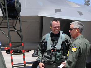 F-22 Raptors arrive at Andersen AFB