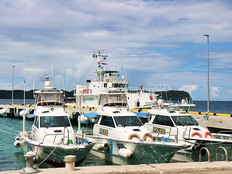 New patrol boat boosts Palau fight against illegal fishing
