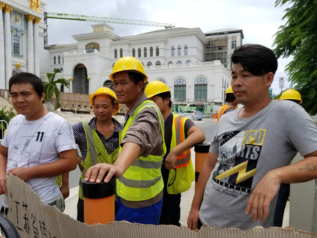 Court sanctions construction firm involved in Saipan casino project