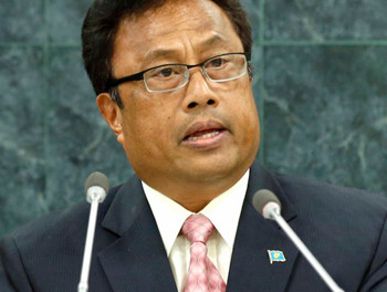 Remengasau backs medical pot, bucks recreational use