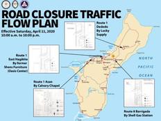 12-hour daily road closures begin Saturday