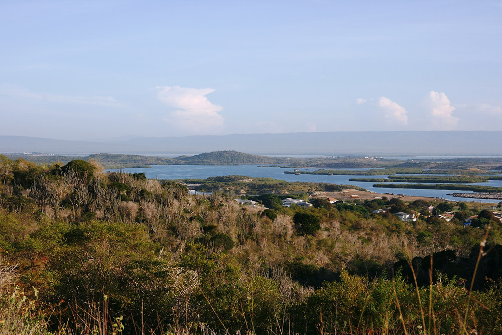 Scenic overlook of Guantanamo Bay and the base. Photo by Bruce Lloyd.