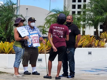 'When will this end?' Protesters demand Guam reopening