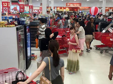 Cash register crisis at Guam's K-Mart