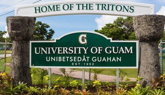 Entrance to the Universiity of Guam  #sign