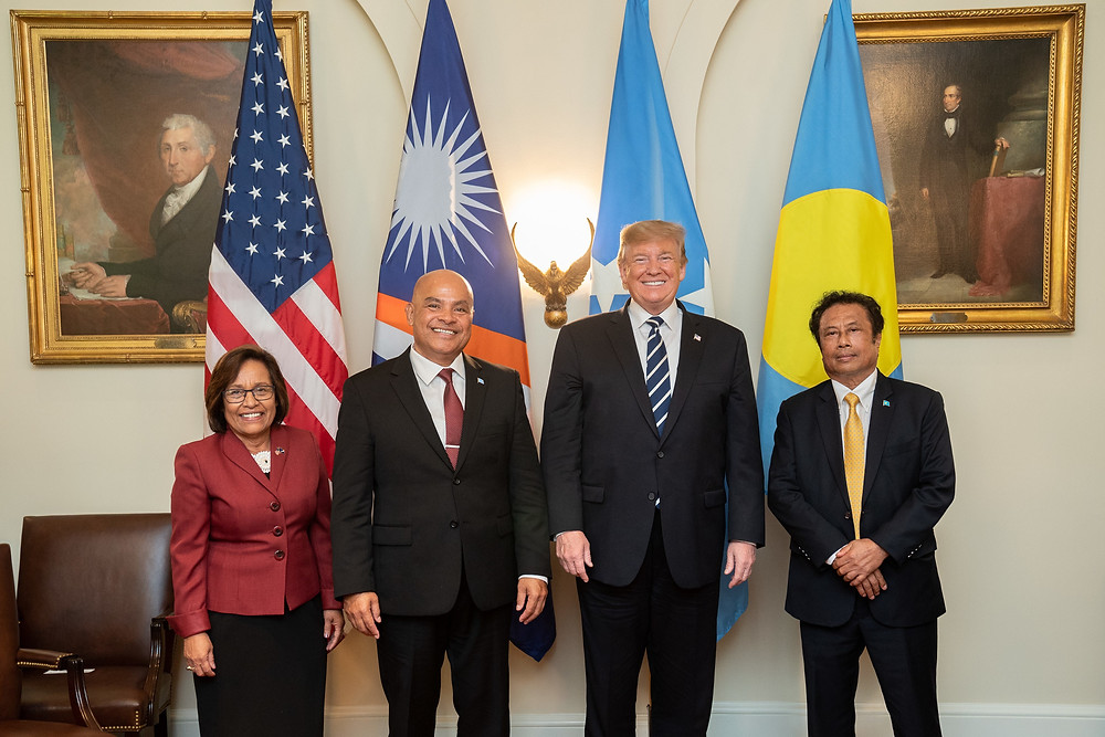Trump with FAS leaders