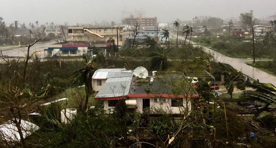 Typhoon Yutu devastation