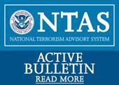 US DHS updates national terrorism advisory system bulletin