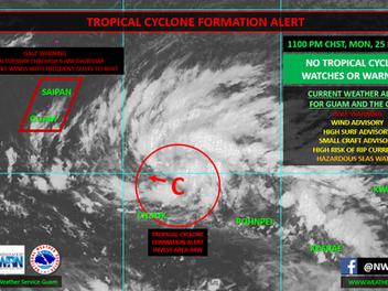 Saipan, Tinian, and Rota under Tropical Storm Condition II