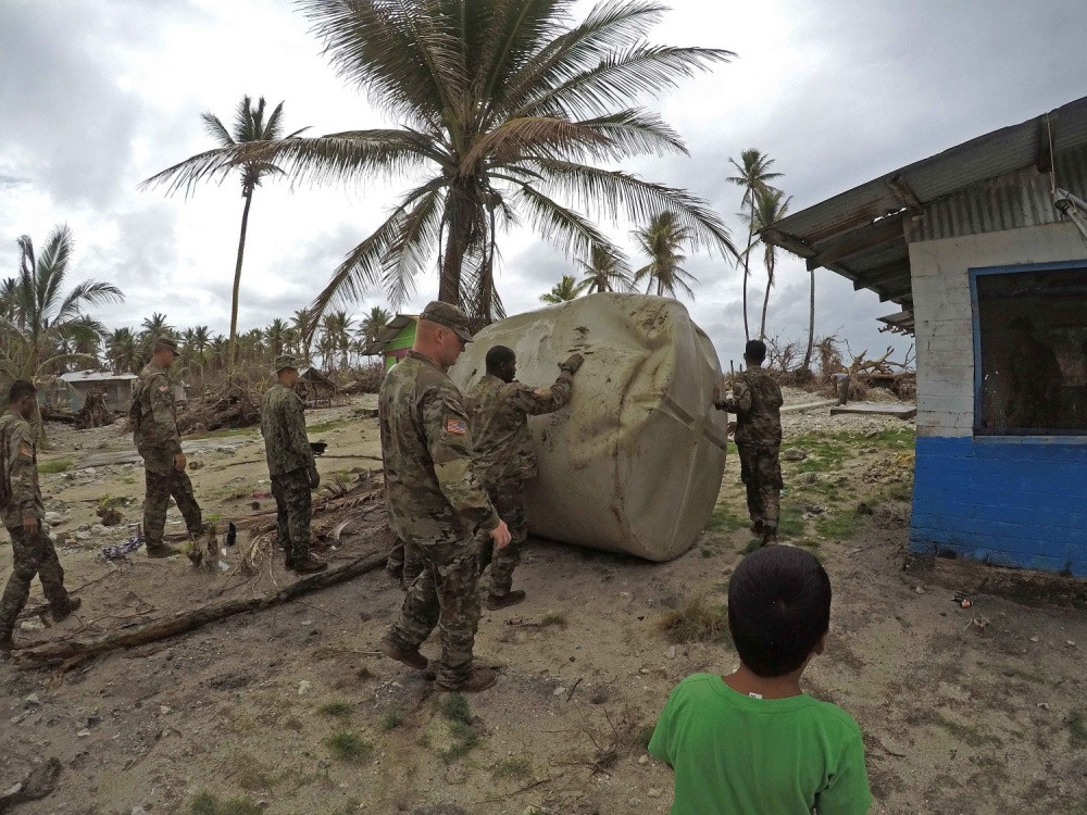 US military assists Wutip-damaged Chuuk