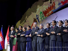 Fanfare, formality and Duterte's rants at ASEAN Summit