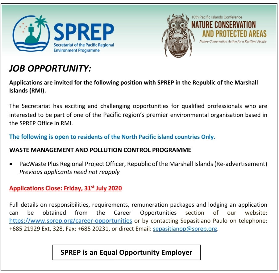 https://www.sprep.org/career-opportunities