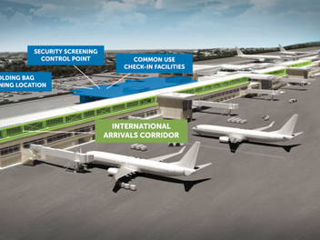 GIAA receives $4.5M grant from FAA for terminal upgrade