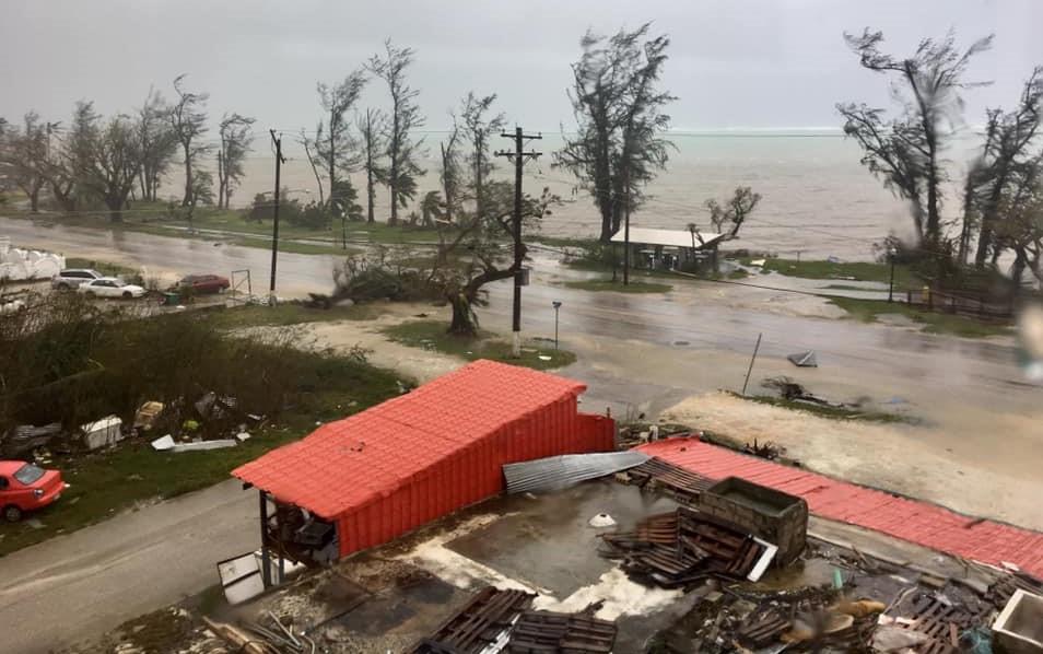 Yutu ravaged Saipan